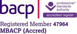 Registered member of bacp | 47964 MBACP (Accred)
